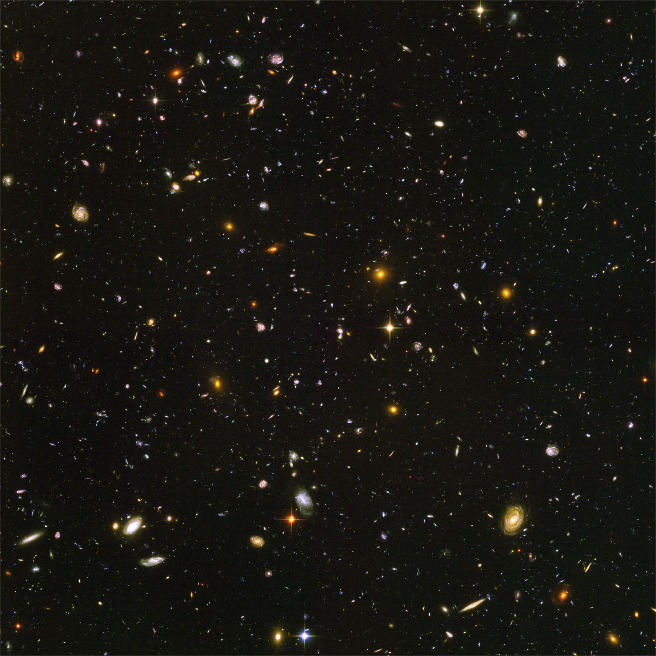 Hubble Ultra Deep-Field