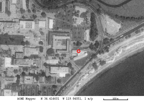 Satellite view of KITP