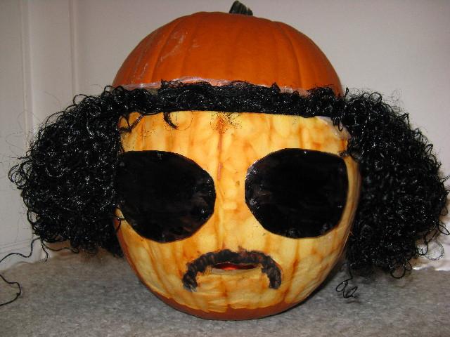 Qaddafi pumpkin