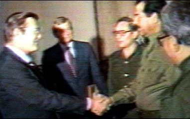 Rummy+Saddam -- the early years