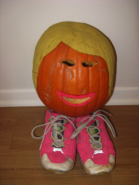 Wendy Davis pumpkin